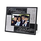 Definition of a Graduate--Metal Photo Frame