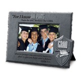 Know Plans, He is Your Shield Grad Photo Frame