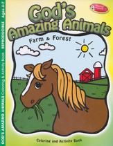 God's Amazing Animals--Coloring & Activity Book (ages 4 to 7)