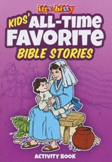 All-Time Favorite Bible Stories--Itty-Bitty Bible Activity Book