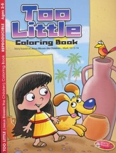Too Little (Jesus Blesses Children)--Coloring Book (ages 2 to 5)