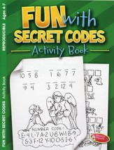 Fun with Secret Codes Coloring & Activity Book, Ages 4-7
