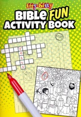 Fun Bible Activities itty-bitty Bible Activity Book