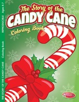 The Story of the Candy Cane Coloring and Activity Book--Ages 4 to 7