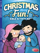 Christmas Fun Bible Activity Book--Ages 6 to 10