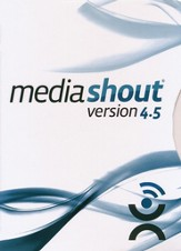 MediaShout 4.5 on CD-ROM  - Slightly Imperfect