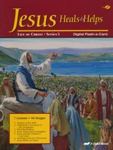 Abeka Jesus Heals and Helps Flash-a-Card on CD-ROM