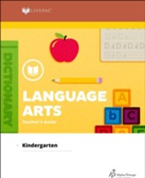 Lifepac Language Arts, Kindergarten,  Teacher's Guide