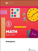 Lifepac Math, Kindergarten, Teacher's Guide