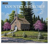 2018 Country Churches Wall Calendar