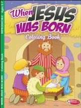 When Jesus Was Born Activity Book (Ages 5-7)