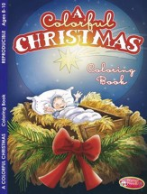 A Colorful Christmas Activity Book (Ages 8-10)