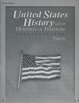 United States History in Christian Perspective:  Heritage of Freedom Tests Key