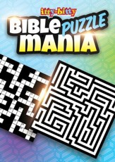 Bible Puzzle Mania Itty-bitty Activity Book