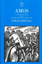Amos: A New Translation with Introduction and Commentary