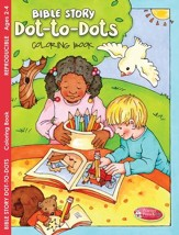 Bible Story Dot-to-Dots Coloring Book (ages 2 to 4)