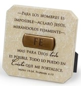 Fe, Placa Esculpida  (Faith, Sculpted Plaque)