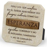 Esperanza, Placa  (Hope, Plaque)