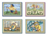 Rainy-Day Friends - Thinking of You Cards, Box of 12