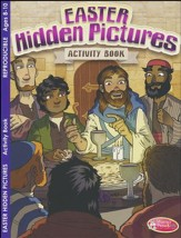 Easter Hidden Pictures Activity Book (ages 8 to 10)
