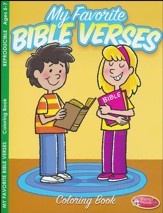 My Favorite Bible Verses Coloring Book (ages 5 to 7)