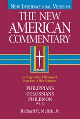 The New American Commentary Volume 32 - Philippians, Colossians, Philemon - eBook