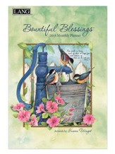 2018 Bountiful Blessings Monthly Planner