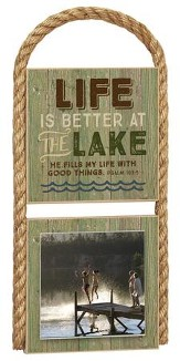 Life Is Better Photo Plaque