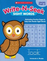 Sight Words: Motivating Practice  Pages to Help Kids Master Sight Words
