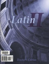 BJU Latin II, Teacher's Edition