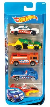 Hot Wheels 5 Pack