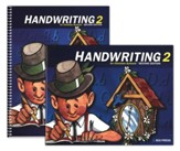 BJU Handwriting Grade 2 Homeschool Kit, Second Edition