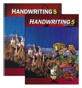 BJU Handwriting Grade 5, Homeschool Kit (Second Edition)