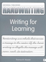 Original Handwriting: Writing for  Learning (Book F, Grade 5)