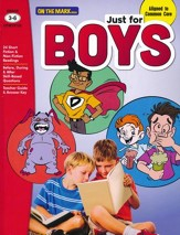 Just for Boys Grades 3-6 Reading  Comprehension Aligned to Common Core