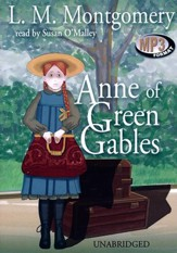 Anne of Green Gables - unabridged audiobook on MP3-CD