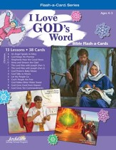 Extra I Love God's Word Beginner (ages 4 & 5) Bible Story Lesson Guide, Revised Edition