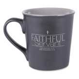 Faithful Servant Mug, Gray