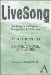 LiveSong-Contemporary A Cappella Arrangements for Christmas (Anthem)