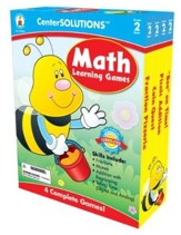 Center Solutions: Math Learning Games Grade 2