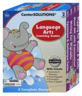 Center Solutions: Language Arts Learning Games Grade 2