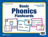 Abeka Basic Phonics Flashcards (K5; 132 cards)