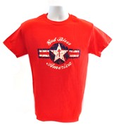 God Bless America Shirt, Red, XX Large