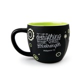 Strength, For I Can Do Everything Through Christ Mug