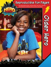 VBS 2017 Hero Central: Discover Your Strength in God! - Older Hero Reproducible Fun Pages