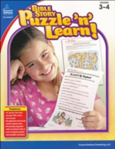 Bible Story Puzzle 'n' Learn! Grades 3-4