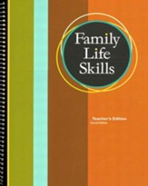 BJU Family Life Skills Student Application Guide  Teacher's Edition