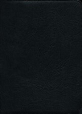 ESV Clarion Reference Bible, Goatskin leather, black - Slightly Imperfect