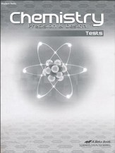 Abeka Chemistry: Precision & Design Tests, Third Edition
