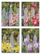 Backyard Beauties Birthday Cards, Box of 12